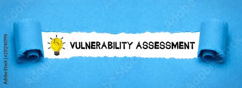 Vulnerability assessment Canvas Print