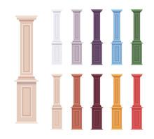 Column Baluster Decorative Set...