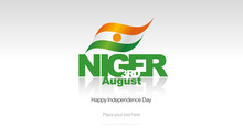 Niger Independence Day Flag Lo...