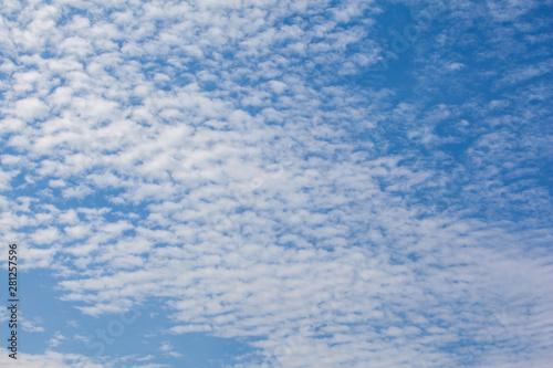 Foto op Plexiglas Arctica Blue sky background with clouds