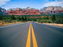Driving In Sedona, Arizona Tow...