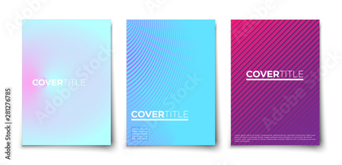 Fototapety, obrazy: halftone gradient covers  with geometric pattern.