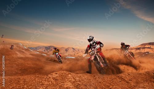 Papiers peints Maroc Motocross