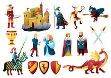 Medieval Kingdom Elements Set