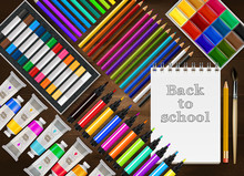 Back To School Realistic Background