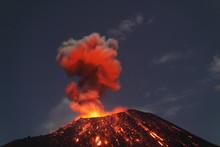 View Of Eruption Of Krakatoa V...