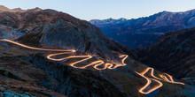 Scenic View Of Illuminated Roa...