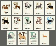 The Calendar 2020 Dog Breeds