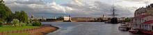 Panoramic View Of The Neva Riv...