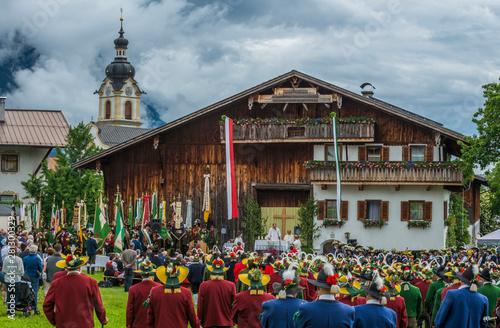 Foto fête folklorique autricienne