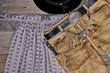 Original Oktoberfest Lederhose Dirndl Tracht Hintergrund Banner