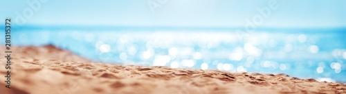 Fototapeta Blurred sea backgroundBlurred sea background with beautiful bokeh obraz
