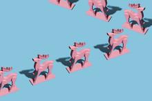 Pink Reindeers