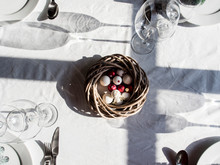 Festive Decorated Table