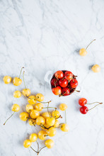 Tasty Red And Yellow Cherry