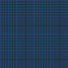 Blue Glen Check Seamless Patte...