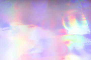 Colorful funky fantasy abstract holographic background.