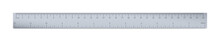 Engineer Or Architect Aluminium Drafting Ruler With An Imperial And A Metric Units Scale.