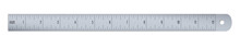Engineer Or Aluminium Drafting Ruler With An Imperial Units Scale.