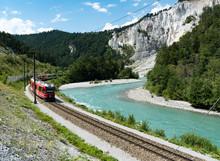 The Rhaetian Railway Train On ...