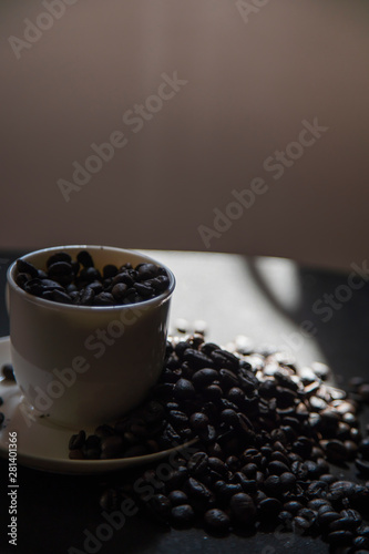 Fototapety, obrazy: Early morning coffee beans keep you awake
