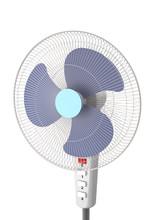 Floor Fan On A White Backgroun...