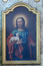 Jesus The Good Shepherd, Altar...