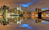 Fototapeta Nowy York - View on Manhattan - New York, USA