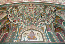 Beautiful Ornament On Wall Of ...