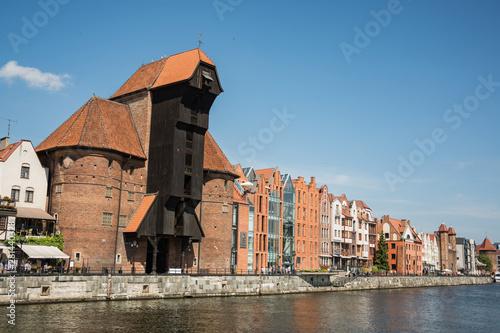 travel photo of old gdansk city, europ architecture  © serejkakovalev