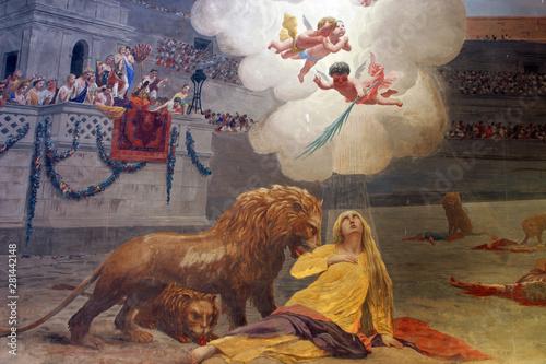 Fotografía Martyrdom of St. Euphemia