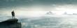 Bergsteiger - Gipfel - Freiheit