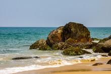 Rocks Awaiting The Tidal Onslaught