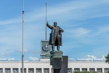 The Monument To Vladimir Lenin...