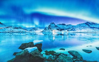 Amazing scene of Northern L...