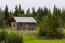 Wooden Cabin In The Wilderness...