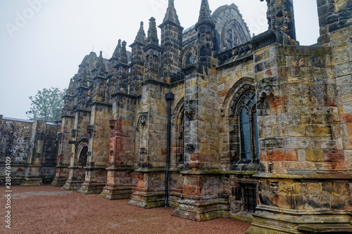 Foto  Rosslyn chapel - Edinburgh, Scotland, United Kingdom