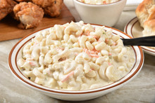 Macaroni Salad And Fried Chicken