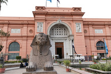 Front Of Egyptian Museum, Cairo, Egypt
