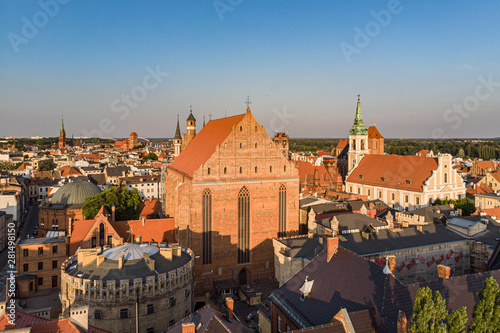 Fototapeta Stare Miasto w Toruniu obraz