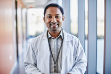 Portrait Of Smiling Doctor Sta...