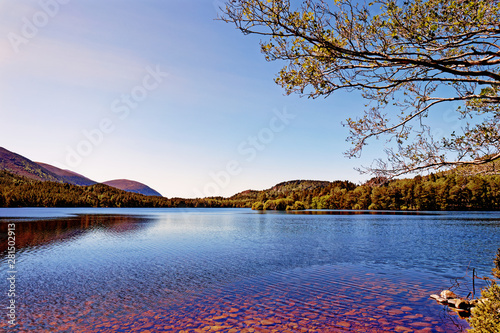 Loch an Eilein - Rothiemurchus, Cairngorms National Park - Scotland, UK