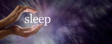 Sleep Concept Banner -  Female...