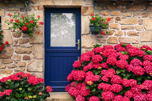 Flowers On The Door