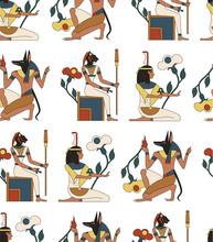 Egypt Pattern Seamless Design Graphic
