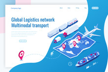 Web Template Banner Global Log...