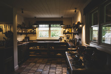 Interior View Of Kitchen