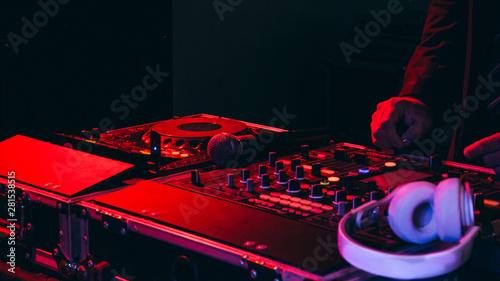 Fototapeta Música, festa, pary, Music, rave, song, night, light obraz