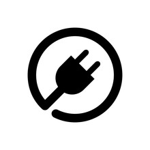 Plug In Vector Icon For Graphi...