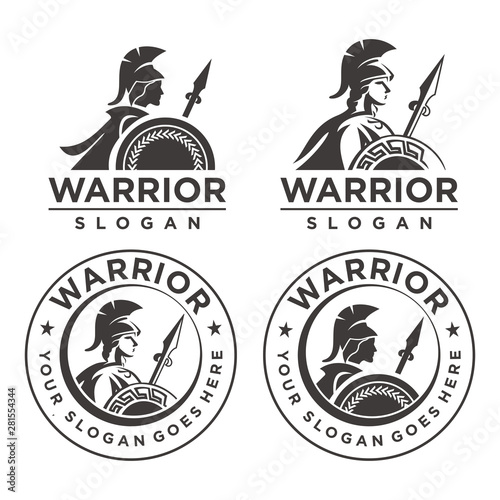 Photo Athena Warrior Emblem logo